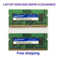 Kembona sodimm notebook ram memory laptop ddr4 8gb 8g 2133MHz 2400MHZ 2666MHZ 260pin free shipping