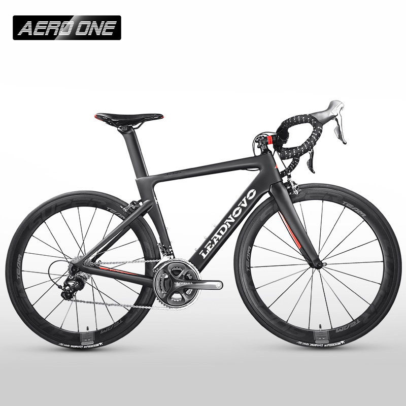 2018 NEW LEADNOVO Carbon Road Frame Di2&Mechanical racing fiber bike carbon road frame+fork+seatpost+headset carbon road bike цена в Москве и Питере