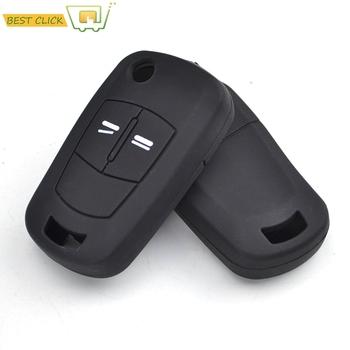 Silikonowa obudowa na klucze do Vauxhall Opel Corsa Astra Vectra Tigra Zafira Signum Combo Meriva obudowa pilota z dostępem bezkluczykowym skóra tanie i dobre opinie MISIMa CN (pochodzenie) RUBBER protect