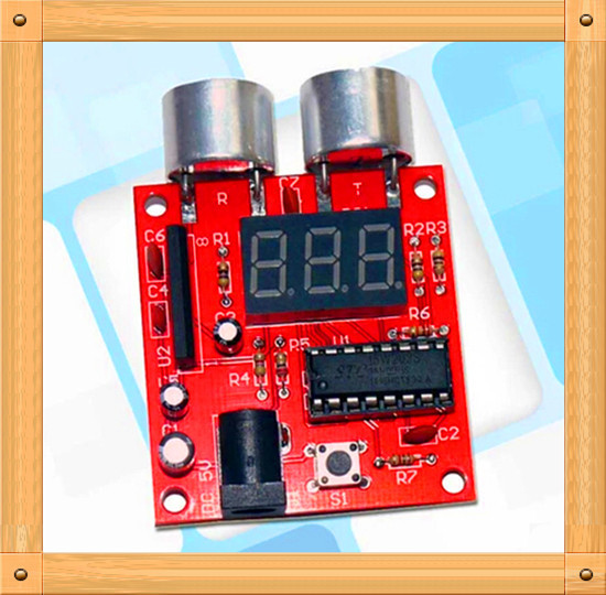 Free Shipping!!! Ultrasound Module / ultrasonic ranging module / SCM / PCB electronic production suite (spare parts)