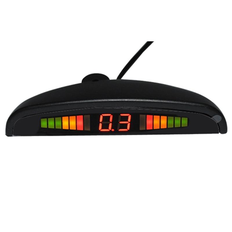 12V LED auto parkimisanduri monitor Automaatne tagurpidi radari - Autode Elektroonika - Foto 4