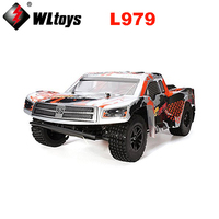 WL Игрушечные лошадки l979 RC автомобилей 1:12 Весы 2.4 г 40 км/ч высокоскоростной гонки по бездорожью Дистанционное управление грузовик монстр баг