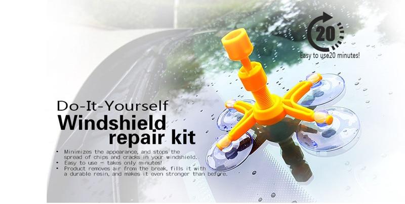 poster of car windshield repair tool
