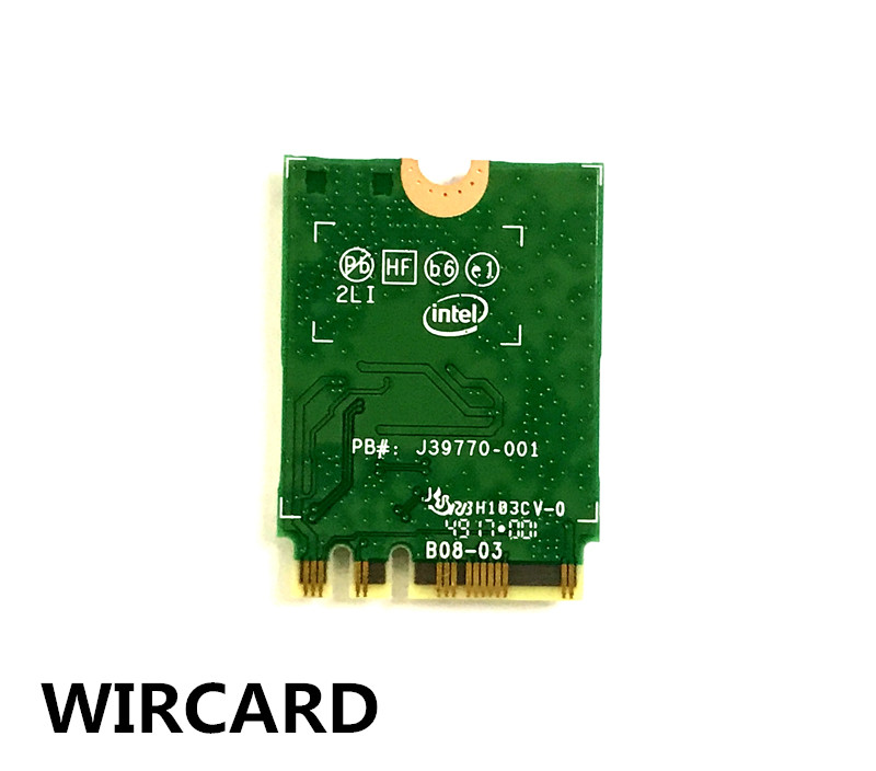 Image 3 - 1730Mbps Wireless 9260NGW Wifi Network Card For Intel 9260 Dual Band NGFF 2x2 802.11ac Wifi Bluetooth 5.0 for Laptop Windows 10-in Network Cards from Computer & Office