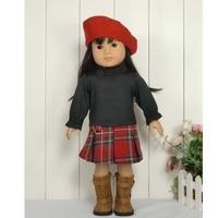 5 компл./лот оптом модные куклы костюм 18 американский одежды куклы и Интимные аксессуары много