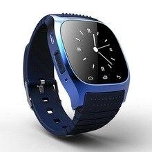 2016 neue Wasserdichte Bluetooth Smart Uhr M26 Relogio Passometer Auf Wrist Smartwatch Für Iphone Samsung Huawei Reloj Inteligente
