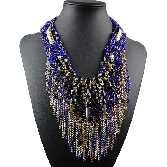 Fashion Maxi Statement Necklace