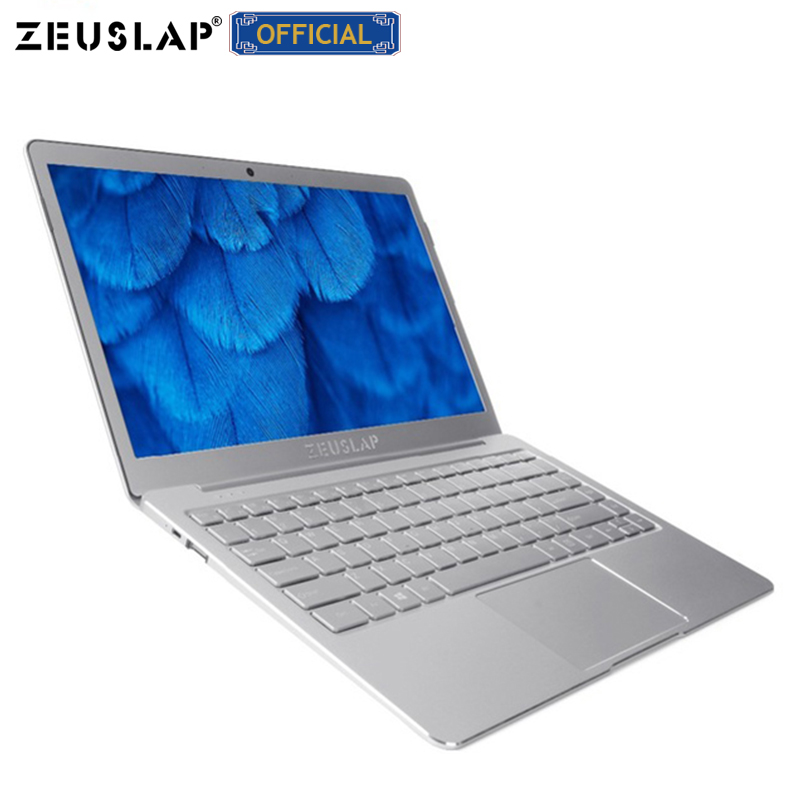 13.3 polegada 8GB de Ram + 256GB SSD Apollo Lago Quad Core CPU Windows 10 Sistema 1920*1080P Full HD Ultrafinos Laptop Computador Notebook