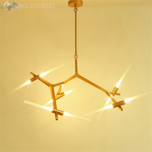 Lighting Franchise House LED Chandelier Dinning Room Light Hall Lamp Living Home Decoration With Bulb