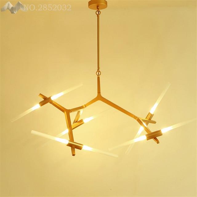 [Beleuchtung Franchise Haus] LED Kronleuchter Esszimmer Licht Halle Lampe  Wohnzimmer Lampe Dekoration Beleuchtung Mit