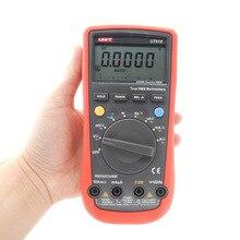 Wysoka Niezawodność Cyfrowy Multimetr UT61E Nowoczesne Cyfrowe Multimetry UNI-T AC DC Miernik CD Podświetlenie & Data Hold Multitester