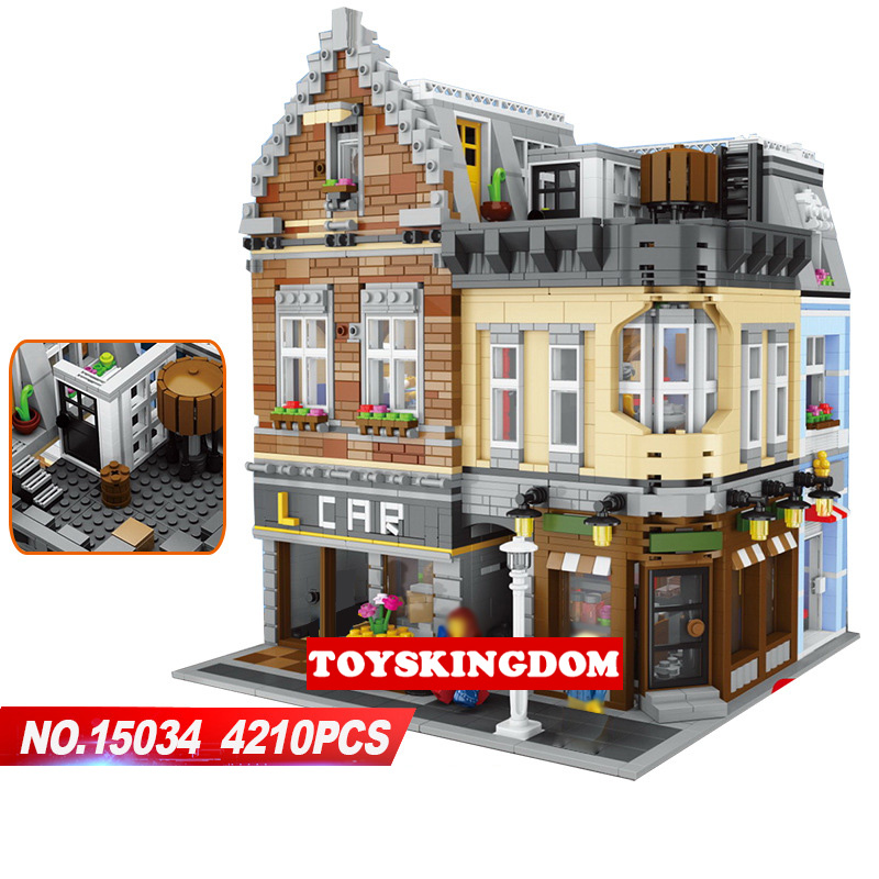 Hot Creators City Street View Moc Lepins Building Block Dream Entrepreneurship Studio Model Bricks Toys Collection for Kids Gift hot city series aviation private aircraft lepins building block crew passenger figures airplane cars bricks toys for kids gifts