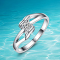 New fashion design;women 925 pure sliver ring;925Sterling silver;Solid design;Acceptable wholesale;