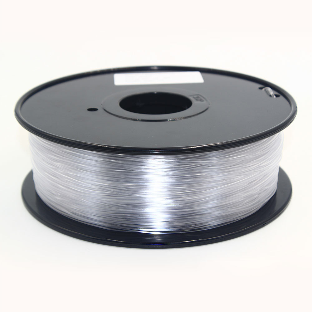 Transparent color PLA 3D Printing material With Spool for 3D Pen/3D Printer 1.75mm 1kg(2.2lb) pla filament Graffiti 3d modeling pla filament 3 00mm 1kg 2 2lbs white color for 3d printer plastic reprap wanhao makerbot free shipping