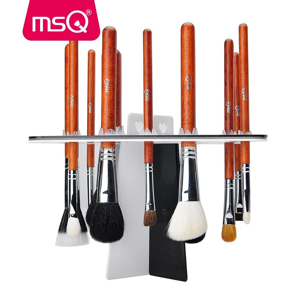 MSQ New Arrival Drying Rack Shelf 26 Holes Brush Holder Brushes Organizer Stand Accessories Comestic Brushes Aside Hang Tools щетки для мытья бутылочек angelcare bottles brushes and drying stand 500132 e вишневый