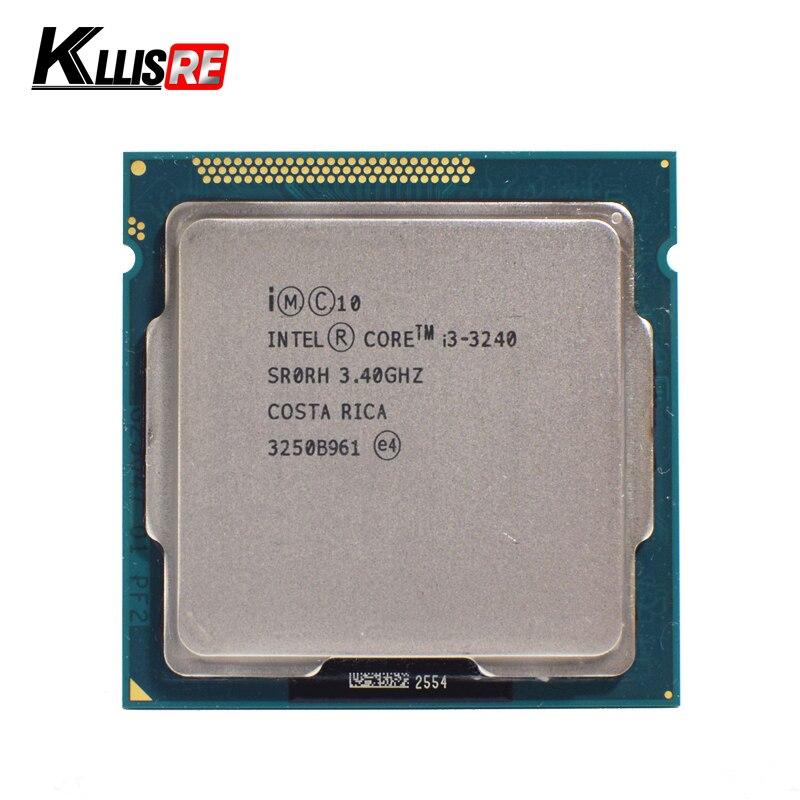 Intel I3 3240 Dual Core 3 4GHz LGA 1155 TDP 55W 3MB Cache i3 3240 CPU