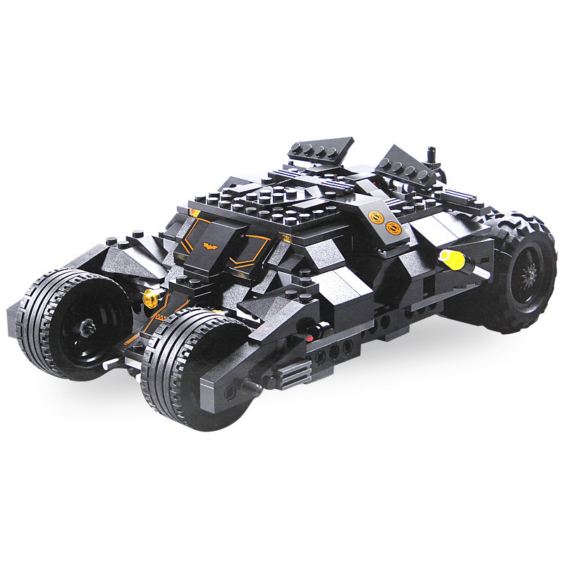 325pcs Super Hero Batman Race Truck Car Classic Building Blocks Compatible With L Brand DIY Toys for children Set With 2 Figures 608pcs race truck car 2 in 1 transformable model building block sets decool 3360 diy toys compatible with 42041