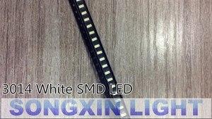 Image 3 - 4000 قطعة 3014 بارد الأبيض SMD LED حبة 3.0 3.2v 30mA 9 10LM 3.0*1.4 مللي متر 6000 6500k 0.1w smd 3014 led الثنائيات