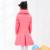 Meninas de Inverno para baixo Casacos Da Menina Quente Do Bebê Pato Grossa Para Baixo Crianças Jaqueta Crianças Outerwears para o Inverno Frio 120-160 cm