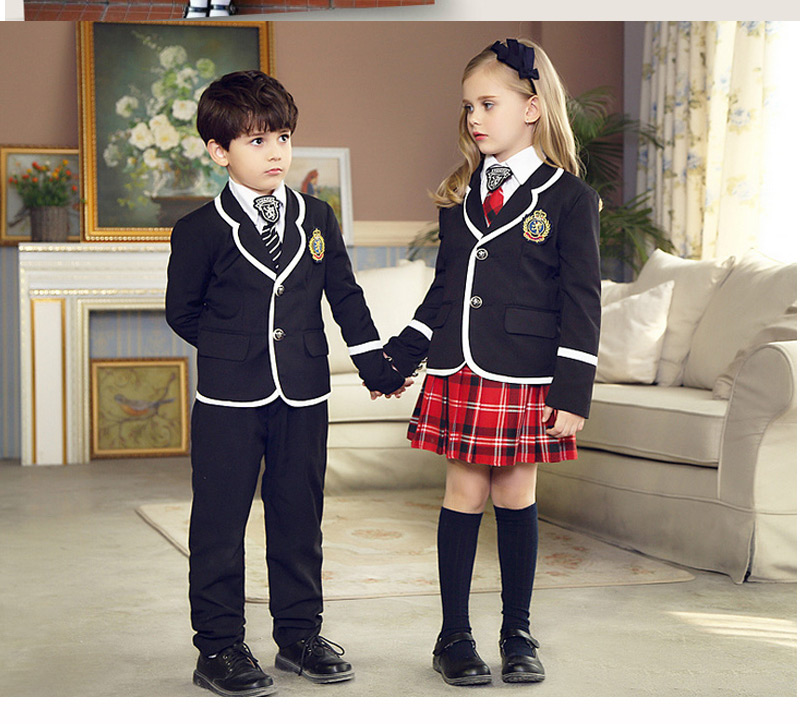 British Korean School Uniform Uniform Escolar Girls-In -7456