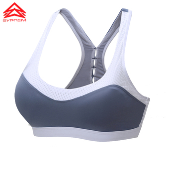 SYPREM seamless sports bra women sexy mesh back bra no steel ring breathable yoga brand underwear push up sports bra,1FT1070 8