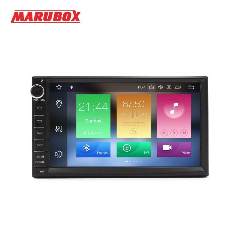 MARUBOX Universel 2Din Android 8.0 4 gb RAM 32 gb ROM 7 GPS Navi Stéréo Radio Voiture Lecteur Multimédia tête intelligente Unité Système