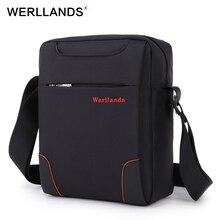 Werllands маленькая сумка через плечо сумки для мужчин износостойкий Оксфорд повседневные сумки Лучший Дизайнер Один сумка мини мужские сумки