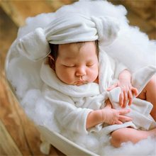 Baby bathtub newborn photography props infant photo shooting props sofa posing shower basket accessories fill with water