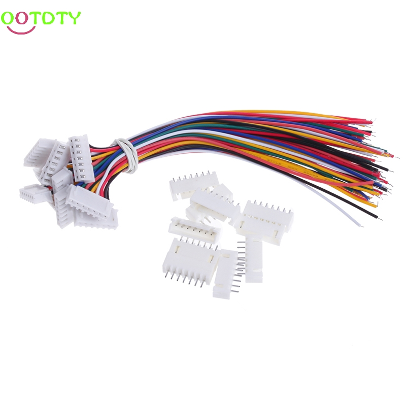 10Pcs 7S1P 150MM Lipo Battery Balance Charger Connector Adapter Plug Cable Wire