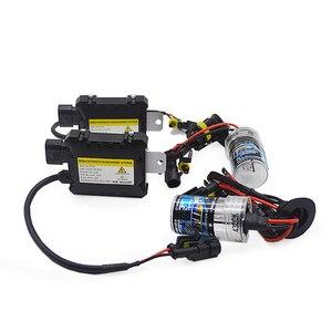 Image 3 - TPTOB 35W 55W kit alimentatore sottile HID lampadina allo Xeno 12V H1 H3 H7 H11 9005 9006 4300k 6000k 8000k lampada faro Xeno automatica
