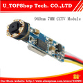 Factory Outlet wholesale Newest Mini CCTV 7mm AV Endoscope Camera Module 6PCS 940nm LED lights 720*576 NTSC/PAL