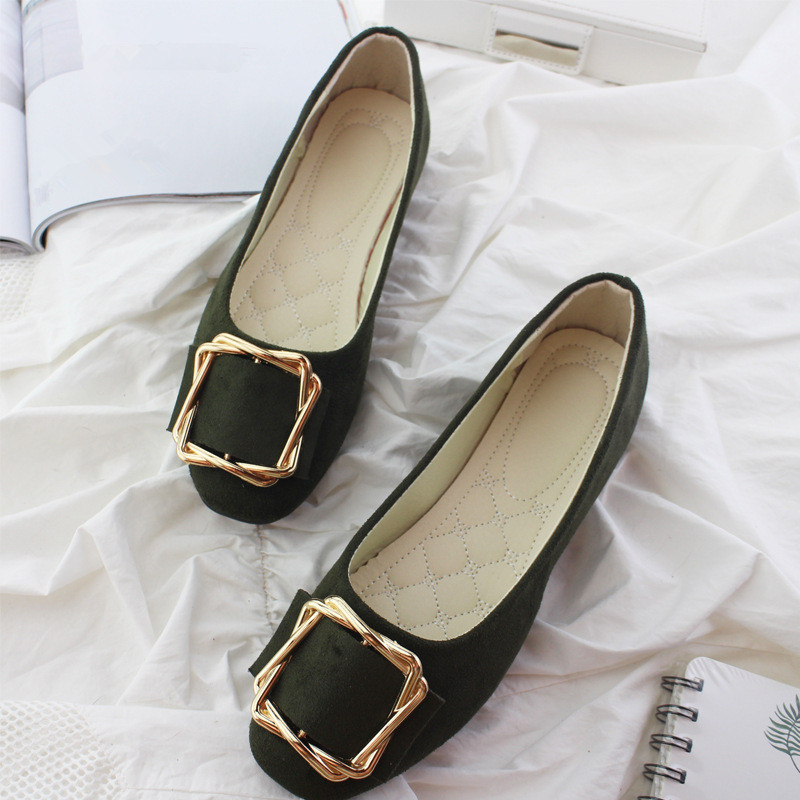 Big Size Women Flats Shallow Candy Color Shoes Woman Loafers Autumn Fashion Sweet Flat Casual Shoes Women Plus Size 35-42 20
