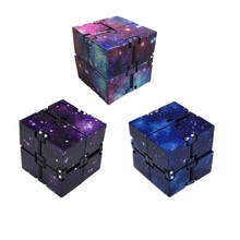 New Trend Creative Infinite Infinitys Cubes Magic Fidget Cubic Cube Puzzle Toy antistress cubes Educational Toys gift(China)