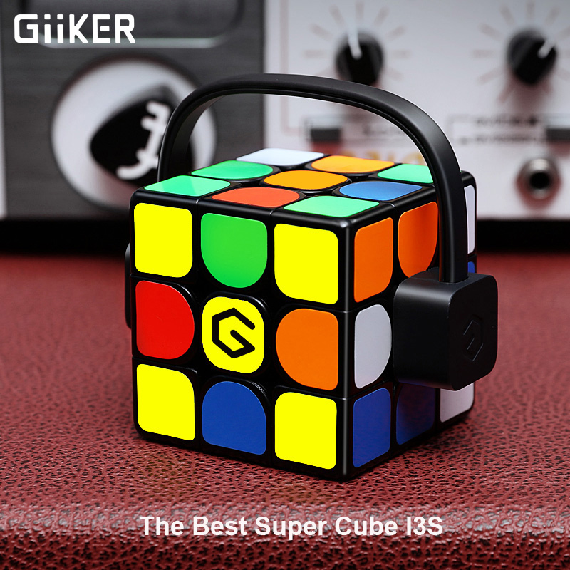 [Update Version ] Original Xiaomi Mijia Giiker i3s AI Intelligent Super Cube Smart Magic Magnetic Bluetooth APP Sync Puzzle Toys[Update Version ] Original Xiaomi Mijia Giiker i3s AI Intelligent Super Cube Smart Magic Magnetic Bluetooth APP Sync Puzzle Toys