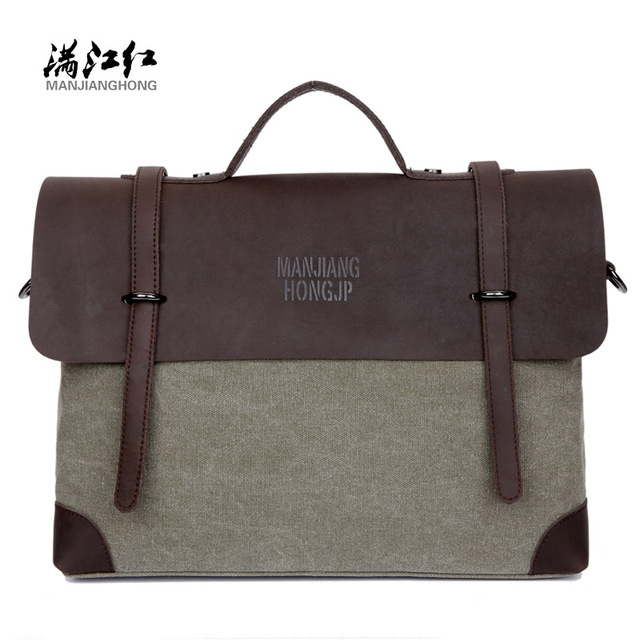94ccba1bf565 man work bags crazy horse leather briefcase shoulder bags laptop crossbody  messenger bolsa masculina fashion men s business bags
