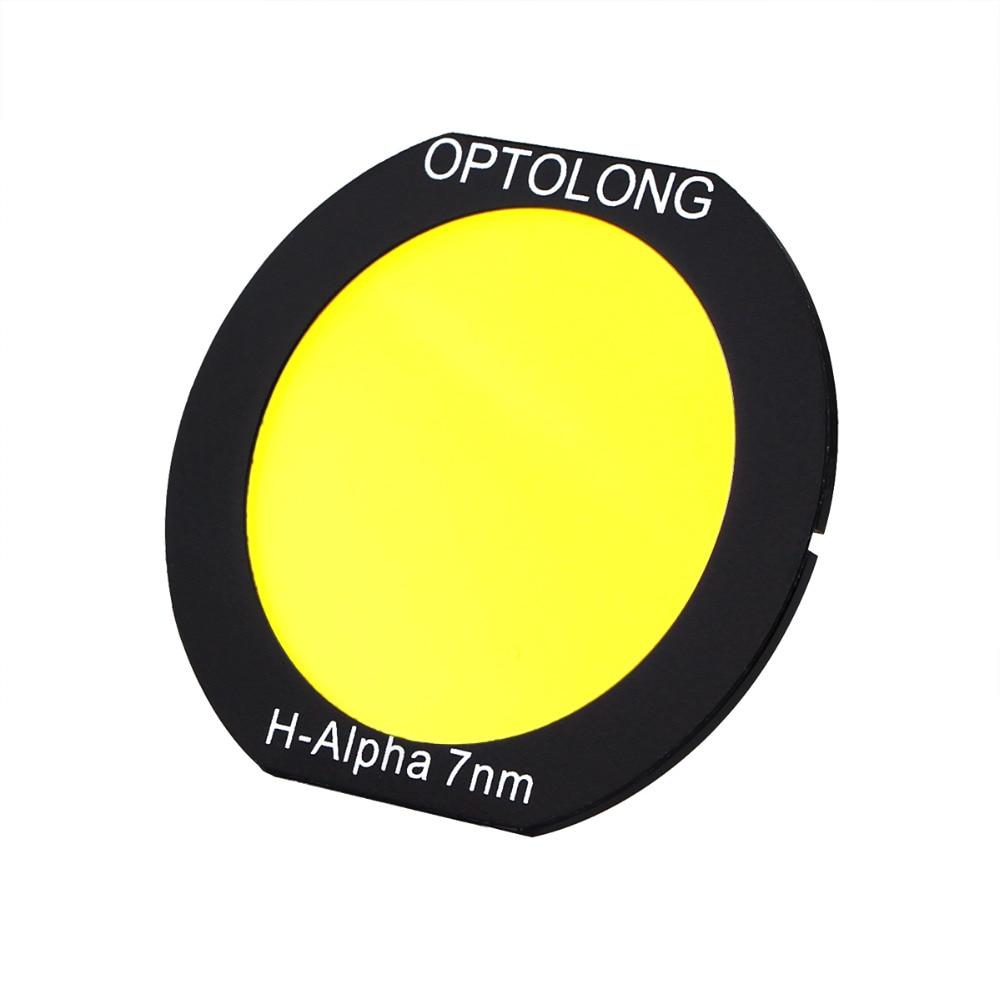 OPTOLONG Filter H-Alpha 7nm Deepsky Clip on Filter for Canon EOS Cameras for Astrophotography Astronomy Telescope W2562AB deepsky переходник с 2 на 1 25