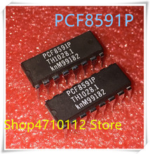 NEW 10PCS/LOT PCF8591P PCF8591 DIP-16  IC