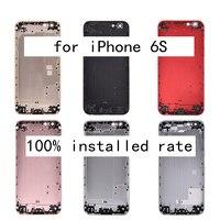 Nouveau AAA Grade Mobile Téléphone Retour Logement pour iphone 6 S Couverture Arrière smartphone Couvercle de La Batterie Cadre Logement pour iPhone6S i6S