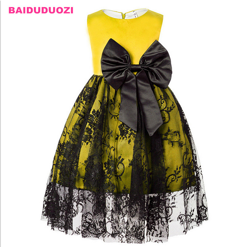 1-6 Years Summer Autumn Toddler Girl Lace Girl Princess Dress For Kids Party Dresses Christmas Dress for Baby Girls Clothes sweet solid color forbidden love shape bracelet for women