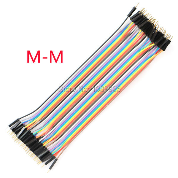 Free Shipping 400pcs dupont cable jumper wire dupont line male to male dupont line 20cm 1P diameter:2.54mm IN STOCK