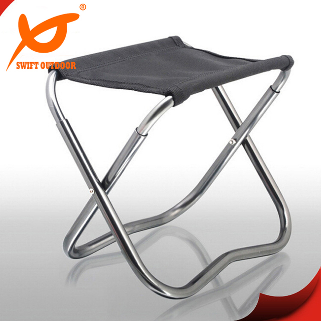 0 2kg Small New Portable Fish Folding Chair Outdoor Camping Fishing Chair Aluminum Oxford Cloth Cadeira - cloth folding chairs