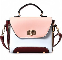 c987165c8619 Модная универсальная сумка большая емкость разноцветная с устойчивым  каблуком фиксатора сумка одно плечо кросс-тело женская сумо.