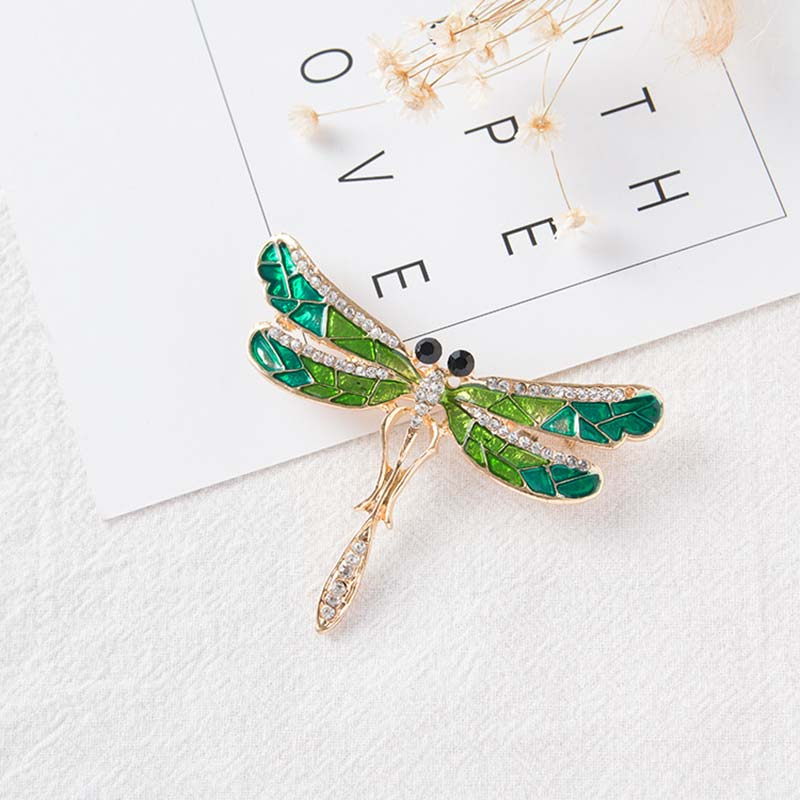 6pcs/lot Dragonfly brooch Pins bodice Brooch Cabochon safety Clothing collarpin for craft brooches wedding garment pins Jewelry