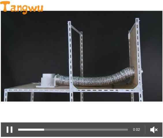 As Peças do ventilador de Exaustão ventilador/cozinha banheiro Exaustor de teto mudo