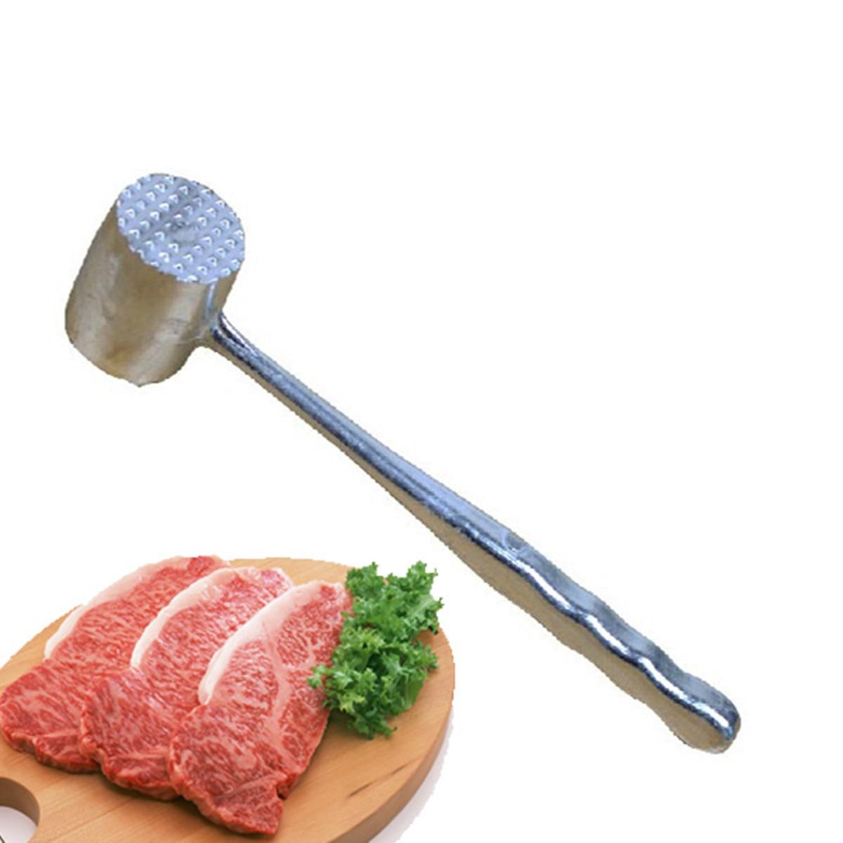 Steak Beef Hammer Aluminium Metal Meat Mallet Tenderizer Household User Friendly Gadgets Canteen