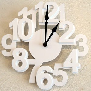 Japans Foreign Trade Promotion Funds Minimalist Living Room Wall Clock Mute Creative Arts IKEA Quartz