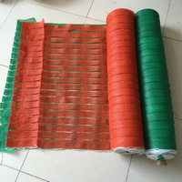 High Quality 50M/Roll Warning Safety Net Balcony Protection Garden Fence Isolation Shade Net Free Shipping Via EMS