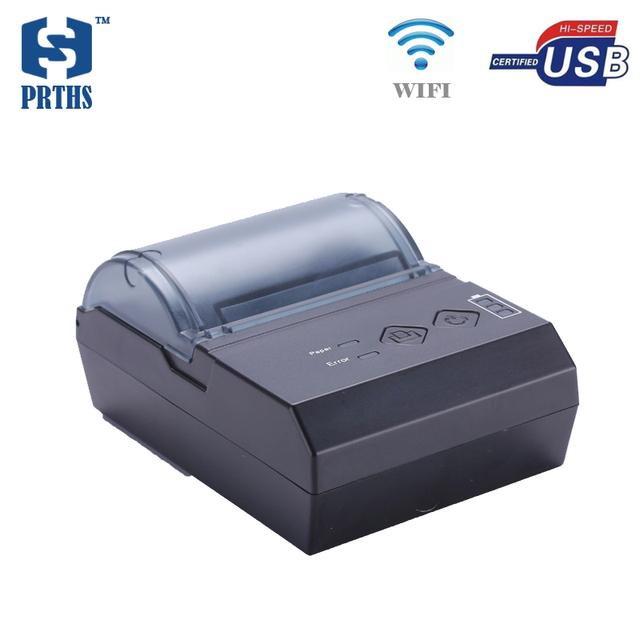 58mm código de configuración de la página de soporte de impresora térmica wifi portátil pequeño bill impressora impresora para officing móvil bluetooth E20UW