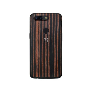Image 2 - Original Official  Oneplus 5T 6T 7pro  Bumper Case Back Cover Karbon Rosewood Ebony Wood  All round Protection shell oneplus 5t