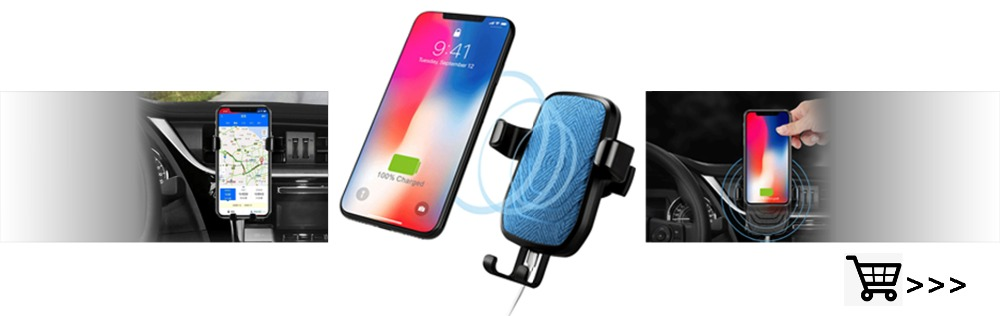 Car Wireless Charger holder baner